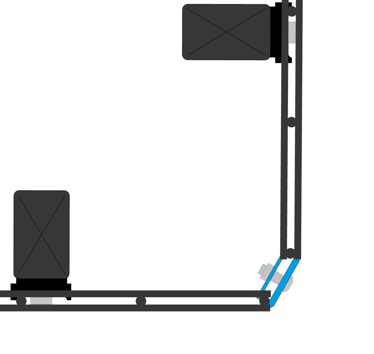 Anbau-Variante Eckverbinder