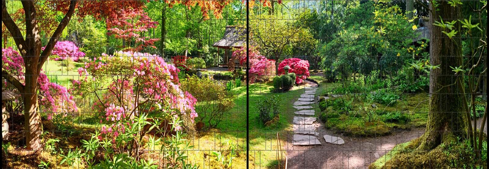 Sichtschutz Panorama Mit Natur Motiv Bedruckt Garvels Die