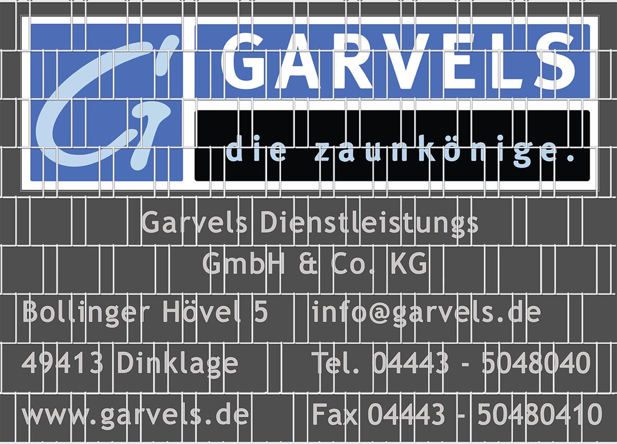 Sichtschutz Mit Eigenem Motiv Oder Logo Garvels Die Zaunkonige