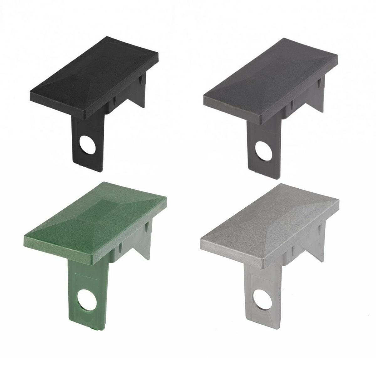 Kugelkappe Verschiedene Gr/ö/ßen Pfostenabdeckung Materialwahl Pfostenkappe mit Kugelkopf in Setzt von 1 bis 12 Abdeckkappe f/ür Pfosten